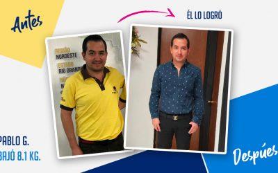 Pablo González – 41 años – 8.1 kg
