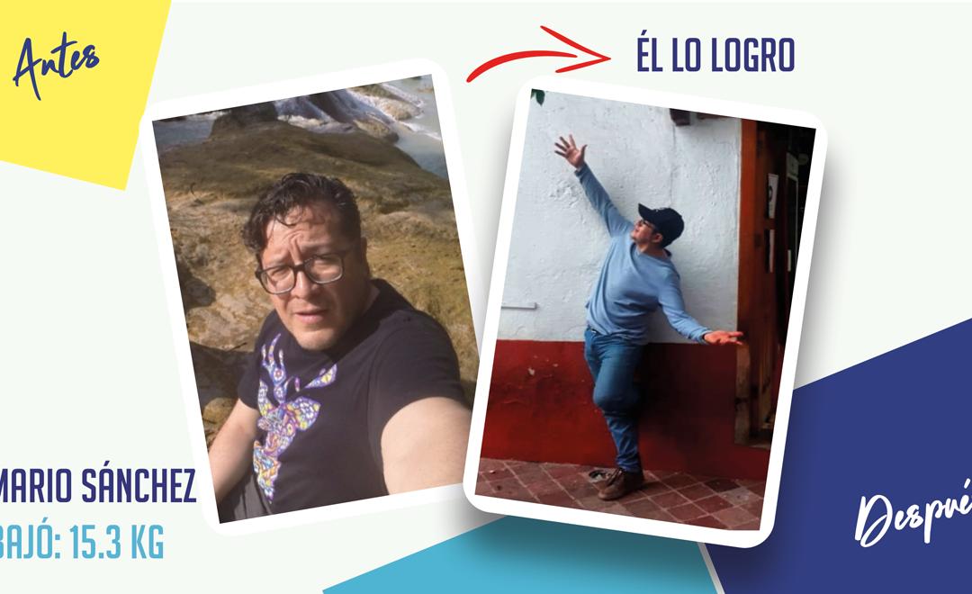 Mario Sánchez – 37 años – 15.3 kg