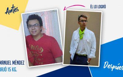 Manuel Méndez – 20 años – 15 kg