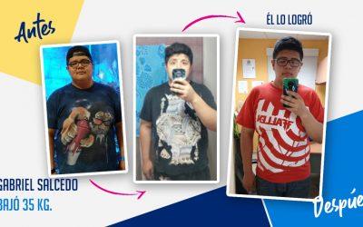 Gabriel Salcedo – 27 años – 35 kg
