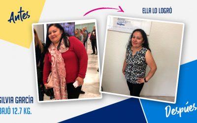 Silvia García Lara – 47 años – 12.7 kg