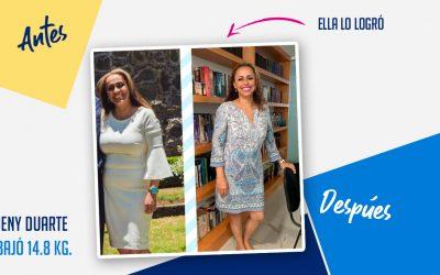 Jeny Duarte – 41 años – 14.85 kg