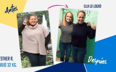 Esther Ramírez – 32 kg