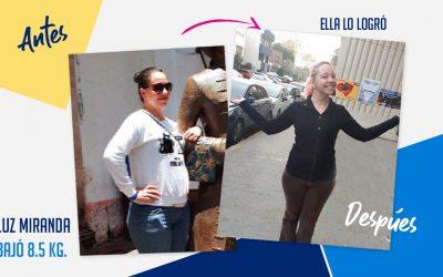 Luz Miranda – 30 años – 8.5 kg