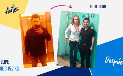 Felipe Díaz – 31 años – 15.7 kg