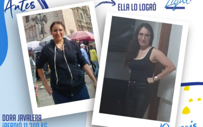Dora Javalera – 37 años – 11.3 kg