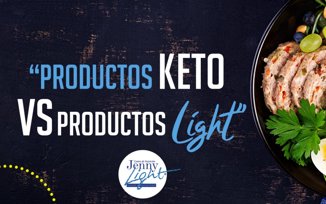 Productos KETO VS Productos LIGH